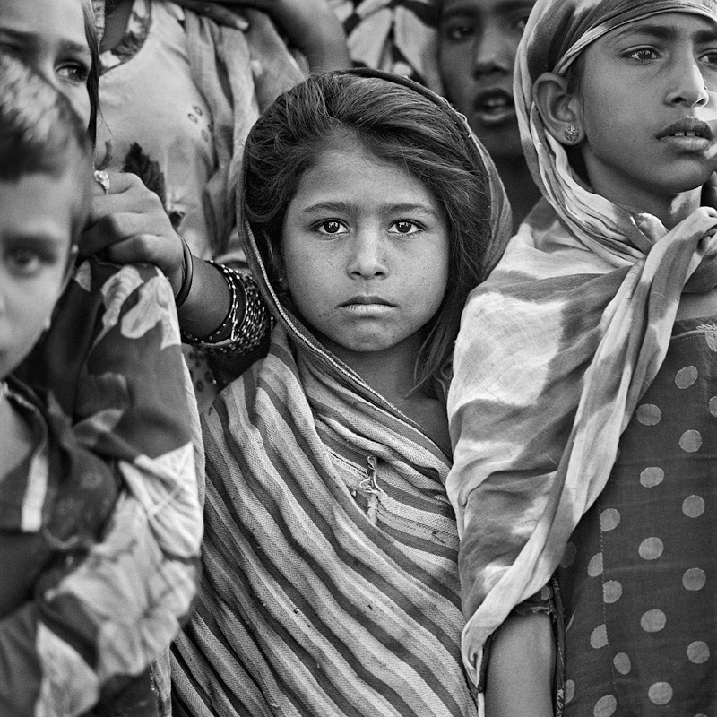 © Christine Turnauer – Children at the Pushkar fair, Pushkar, Rajasthan, India, 2015