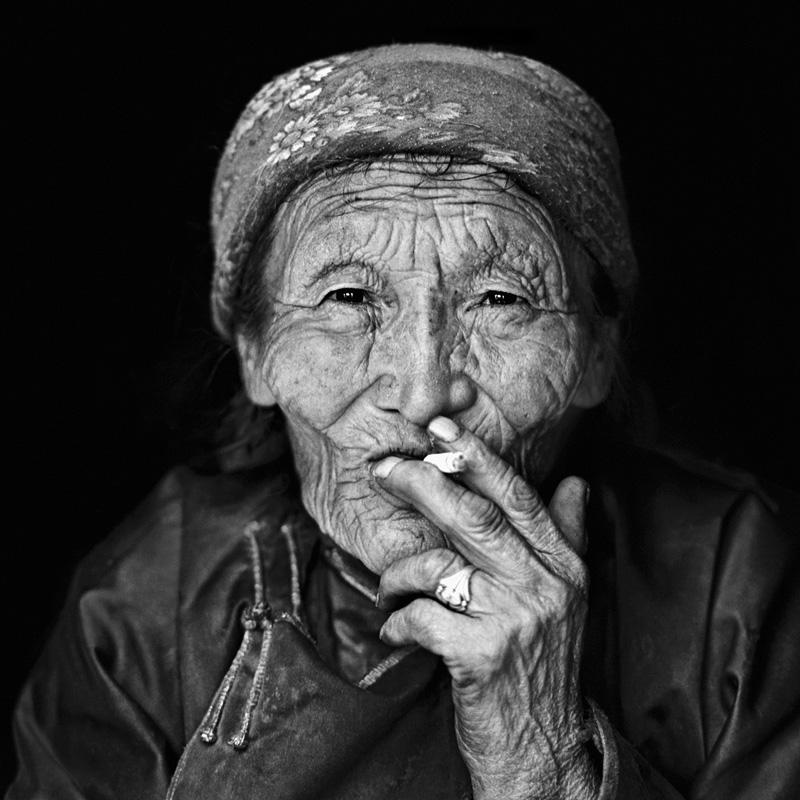 © Christine Turnauer – PRESENCE series, Punzel, Tsaatan nomad, Mongolia, 2013