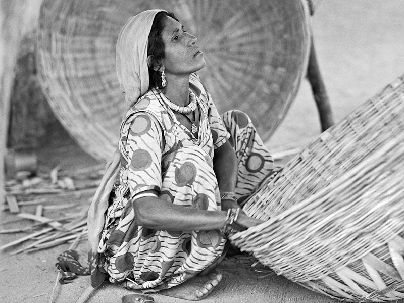 © Christine Turnauer – Sharada, basket-maker, India, 2015