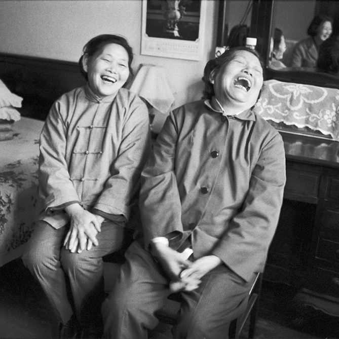 © Christine de Grancy – Shanghai. Chine 12.4.1984