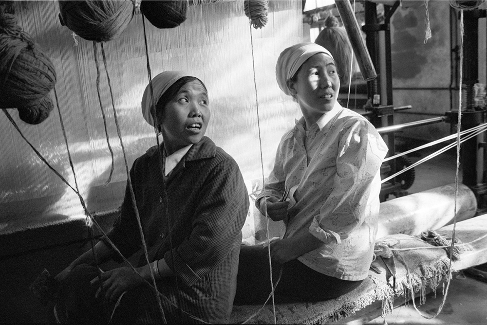 © Christine de Grancy – China, Xining, 1986
